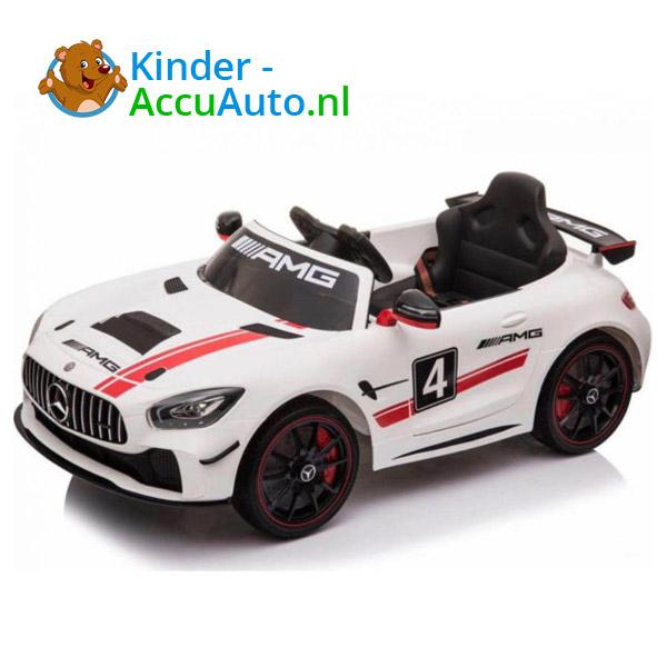 Mercedes GT4 AMG kinderauto Wit 1