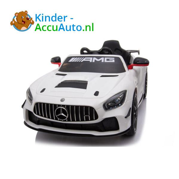 Mercedes GT4 AMG kinderauto Wit 6