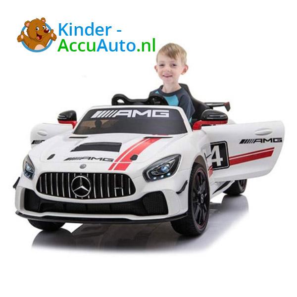 Mercedes GT4 AMG kinderauto Wit 7