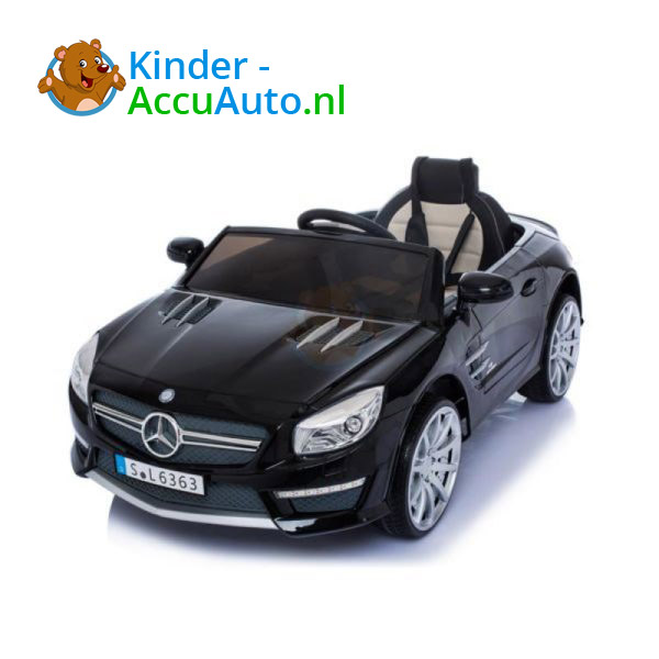 Mercedes SL63 AMG kinderauto Zwart 5