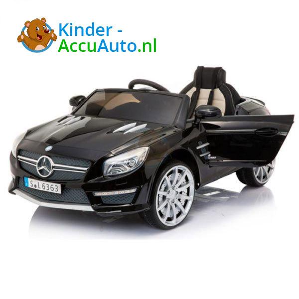 Mercedes SL63 AMG kinderauto Zwart 9