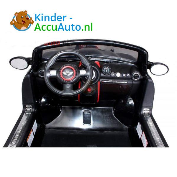 Mini Cooper Kinderauto Zwart 6