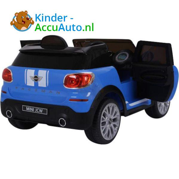 Mini Cooper Paceman Kinderauto Blauw 4