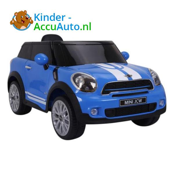 Mini Cooper Paceman Kinderauto Blauw 8