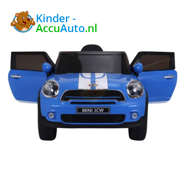 Mini Cooper Paceman Kinderauto Blauw 9