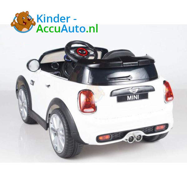 Mini Cooper Kinderauto Wit 2