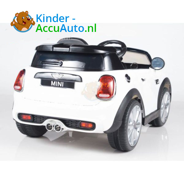 Mini Cooper Kinderauto Wit 4