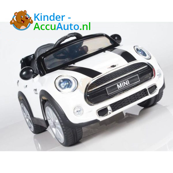 Mini Cooper Kinderauto Wit 8
