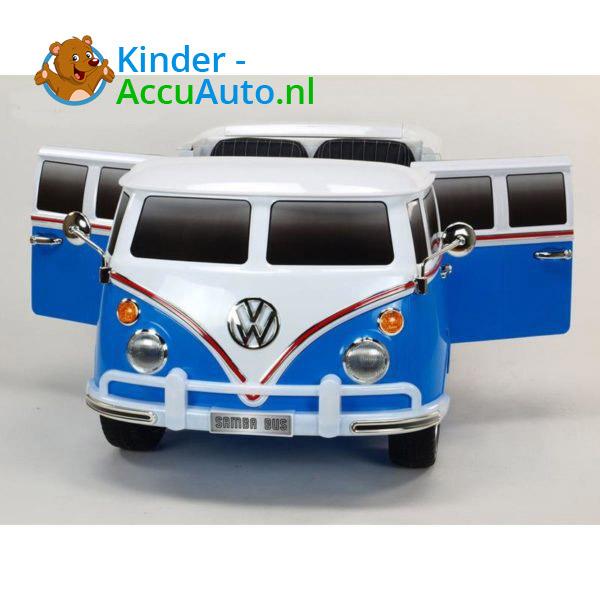 Volkswagen T1 Campervan Kinderauto Blauw 2