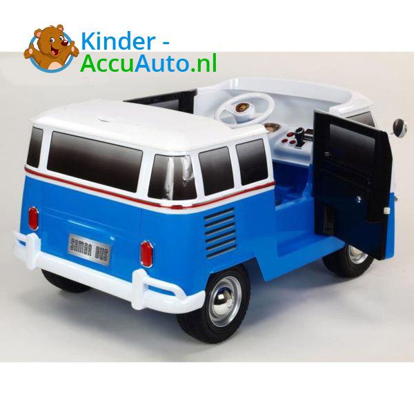 Volkswagen T1 Campervan Kinderauto Blauw 3