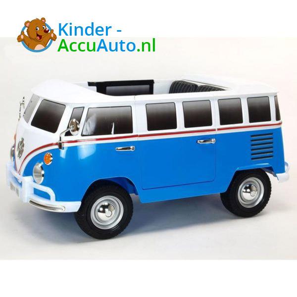 Volkswagen T1 Campervan Kinderauto Blauw 4