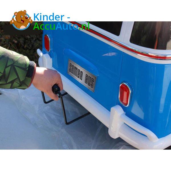 Volkswagen T1 Campervan Kinderauto Blauw 6