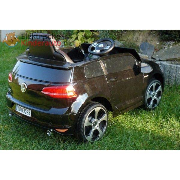 Volkswagen Golf GTI Kinderauto Zwart 10