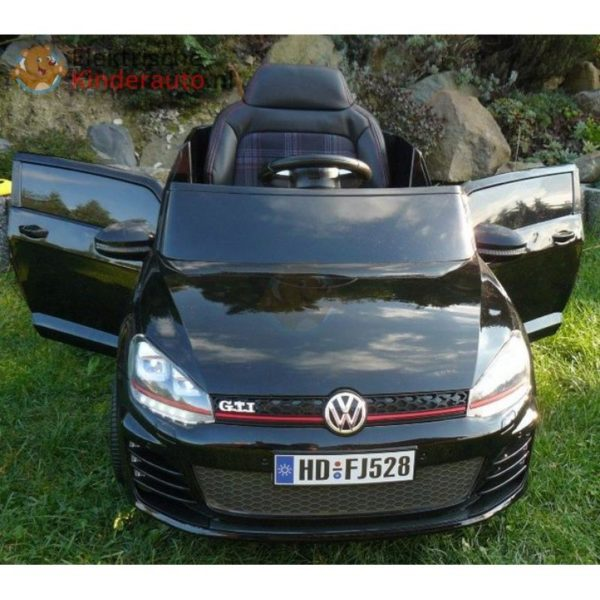 Volkswagen Golf GTI Kinderauto Zwart 8