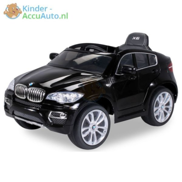 Kinder accu auto BMW X6 zwart kinderauto 1