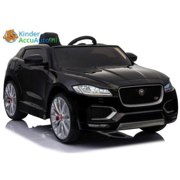 kinder accu auto f pace zwart kinderauto 1
