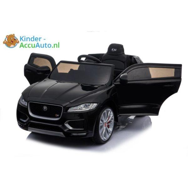 kinder accu auto f pace zwart kinderauto 4