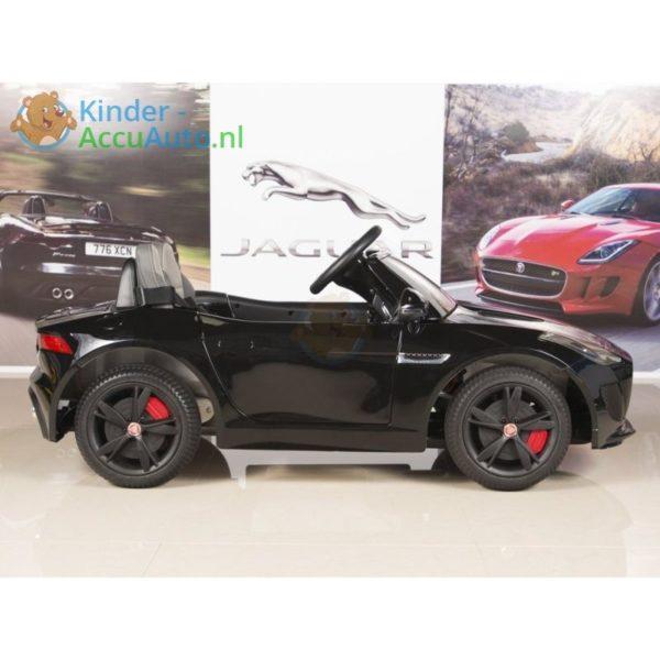 Jaguar F type kinder accu auto zwart kinderauto 2