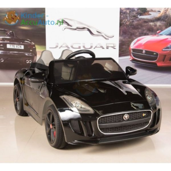 Jaguar F type kinder accu auto zwart kinderauto 6