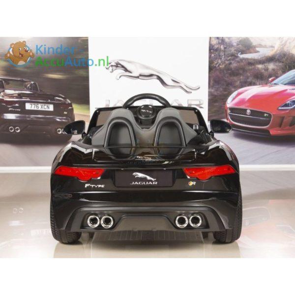 Jaguar F type kinder accu auto zwart kinderauto 5