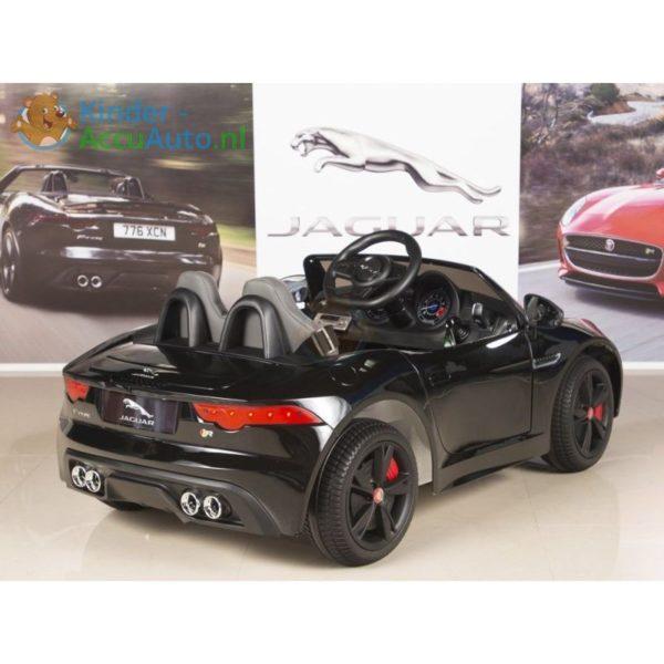 Jaguar F type kinder accu auto zwart kinderauto 4