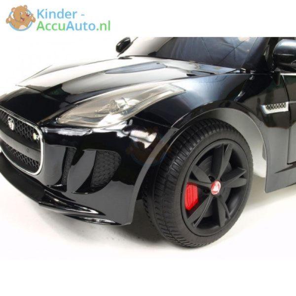 Jaguar F type kinder accu auto zwart kinderauto 3