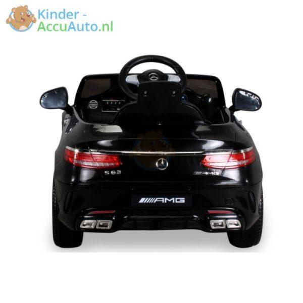Kinder Accu Auto mercedes S63 AMG zwart 29
