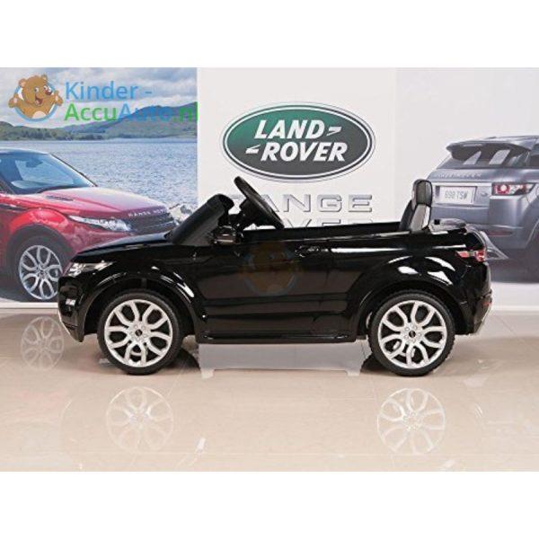 Kinder accu auto range rover evoque zwart kinderauto 10