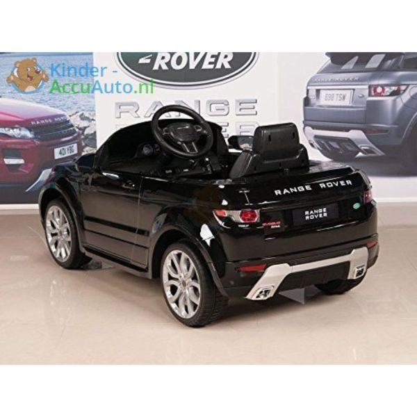 Kinder accu auto range rover evoque zwart kinderauto 11