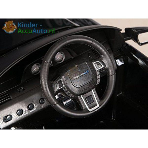 Kinder accu auto range rover evoque zwart kinderauto 13