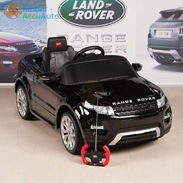 Kinder accu auto range rover evoque zwart kinderauto 14