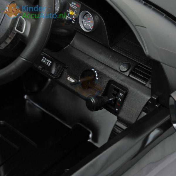 Kinder accu auto range rover evoque zwart kinderauto 7