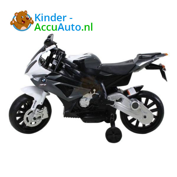 BMW S1000RR Zwart Kindermotor 2