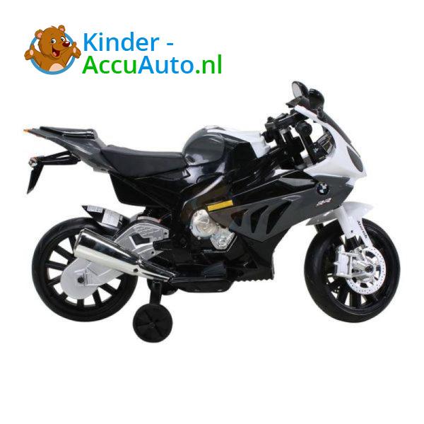 BMW S1000RR Zwart Kindermotor 7