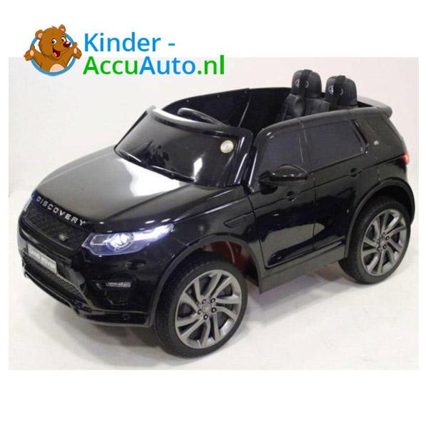 Land Rover Zwart Kinderauto Discovery 1
