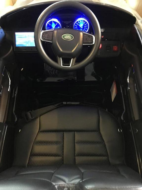 Land Rover Zwart Kinderauto Discovery 9