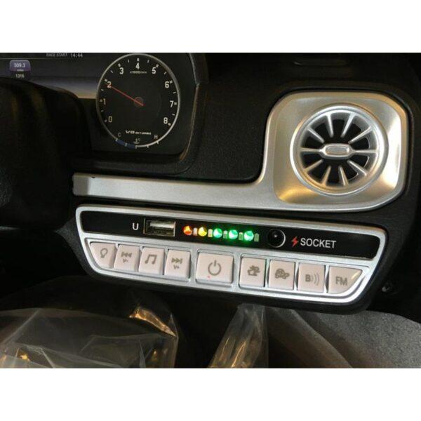 Mercedes G63 Zwart Kinderauto AMG 8