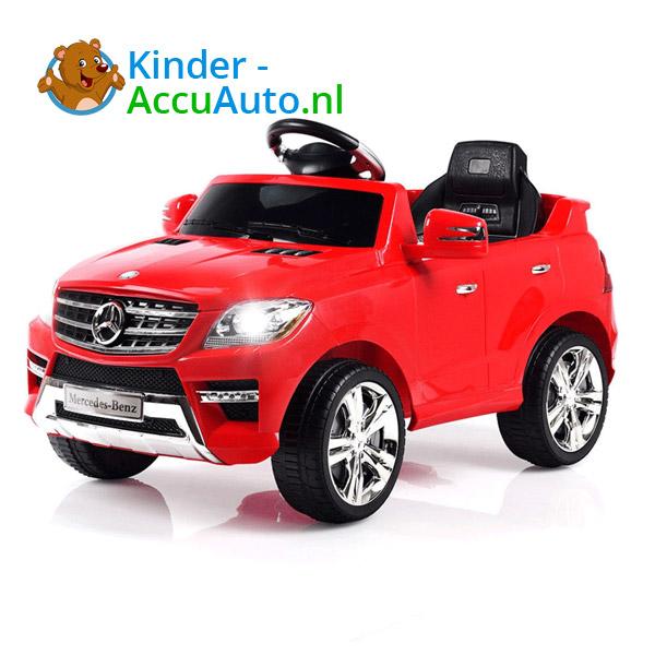 Mercedes ML350 kinder accu auto rood kinderauto 1