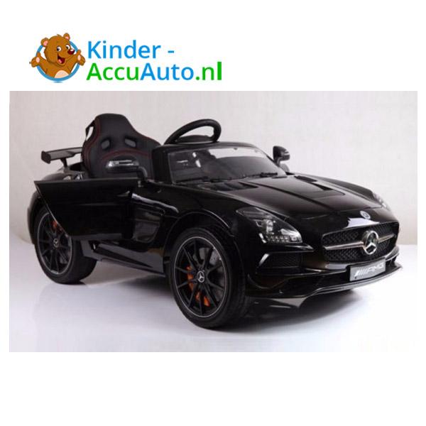 Mercedes SLS Zwart Kinderauto 2