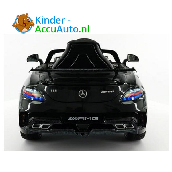Mercedes SLS Zwart Kinderauto 4