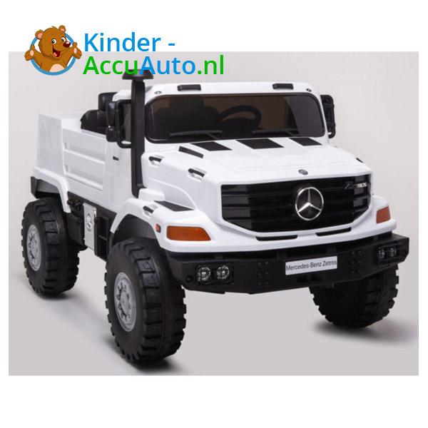 Mercedes Zetros Wit Kinderauto 1
