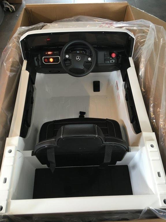 Mercedes Zetros Wit Kinderauto 11