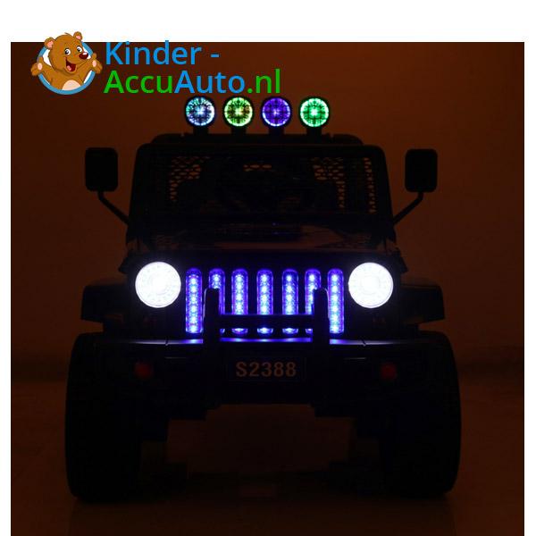 Monster Jeep Zwart Kinderauto 6