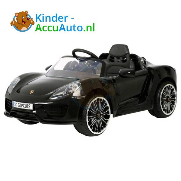 Porsche 918 Spyder Kinderauto Zwart 1
