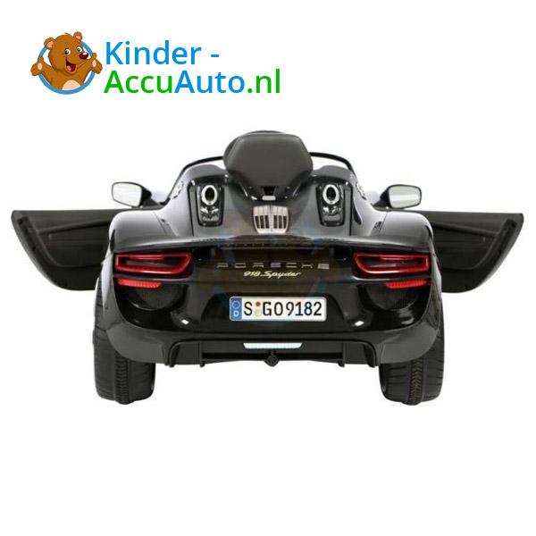 Porsche 918 Spyder Kinderauto Zwart 2