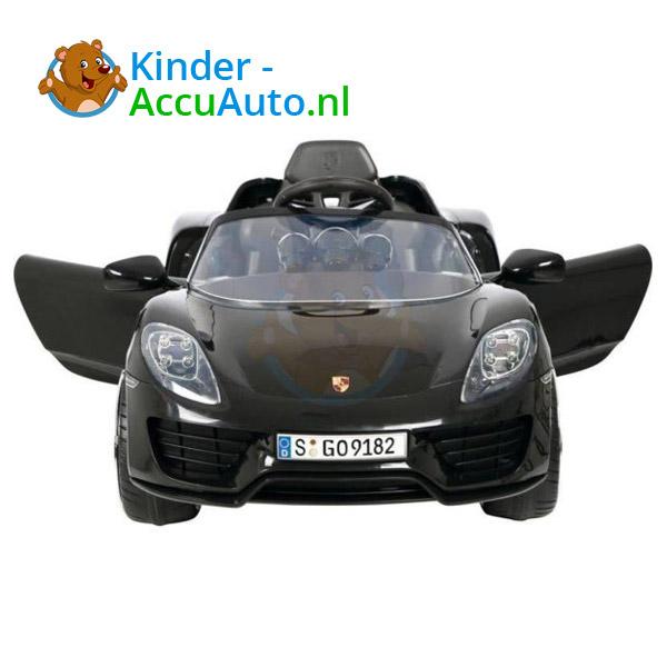 Porsche 918 Spyder Kinderauto Zwart 4