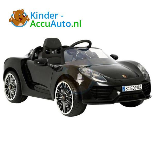 Porsche 918 Spyder Kinderauto Zwart 6