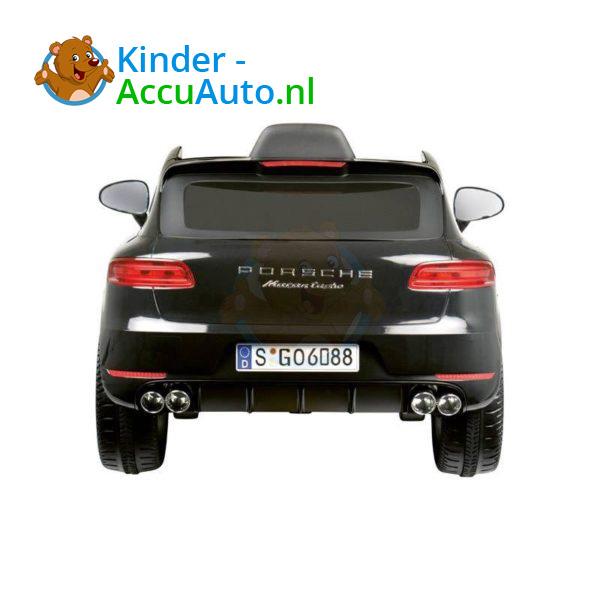 Porsche Macan Kinderauto Zwart 2