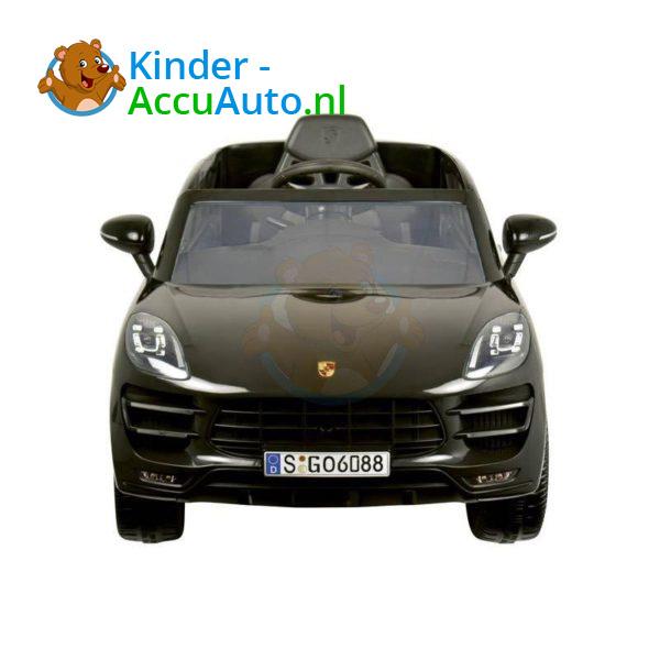 Porsche Macan Kinderauto Zwart 3