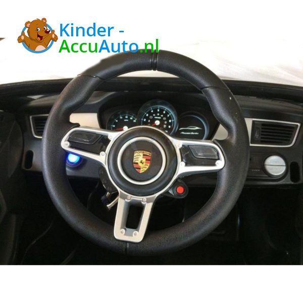 Porsche Macan Kinderauto Zwart 5